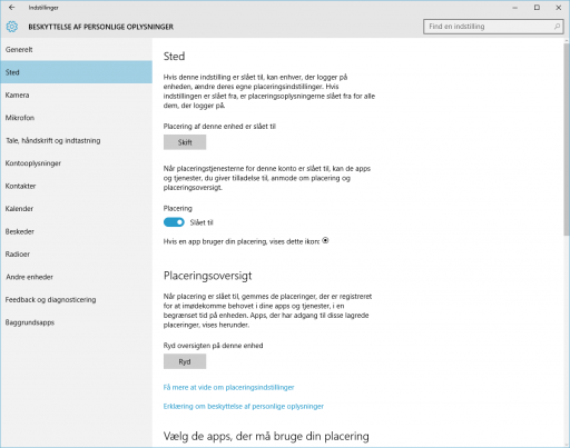Windows10_Beskyttelse af personlige oplysninger_sted