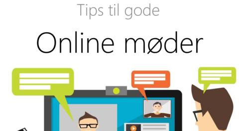 Tips til gode onlinemøder