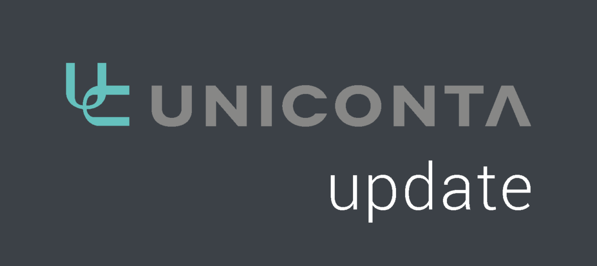 DataComfort Uniconta update