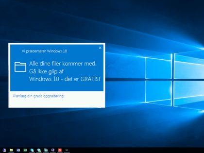Gode råd ved opgradering til Windows 10